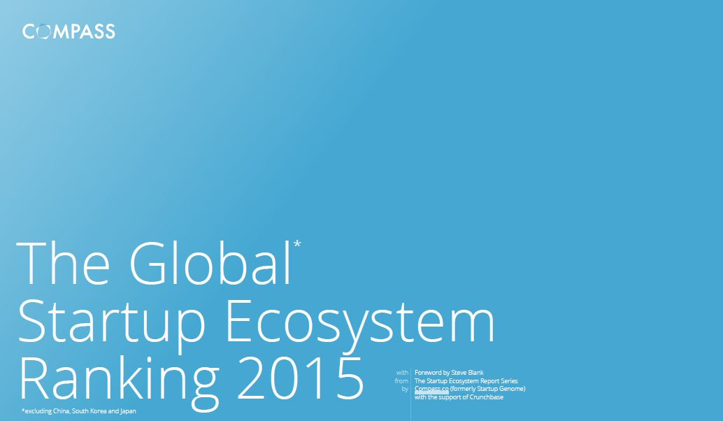 Global Startup Ecosystem Report 2015