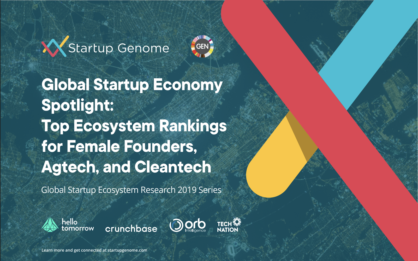 Startup Economy Spotlight: Top Ecosystem Rankings for Female Founders, Agtech, and Cleantech