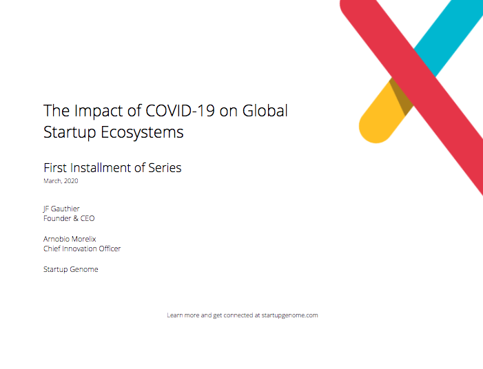 The Impact of COVID-19 on Global Startup Ecosystems