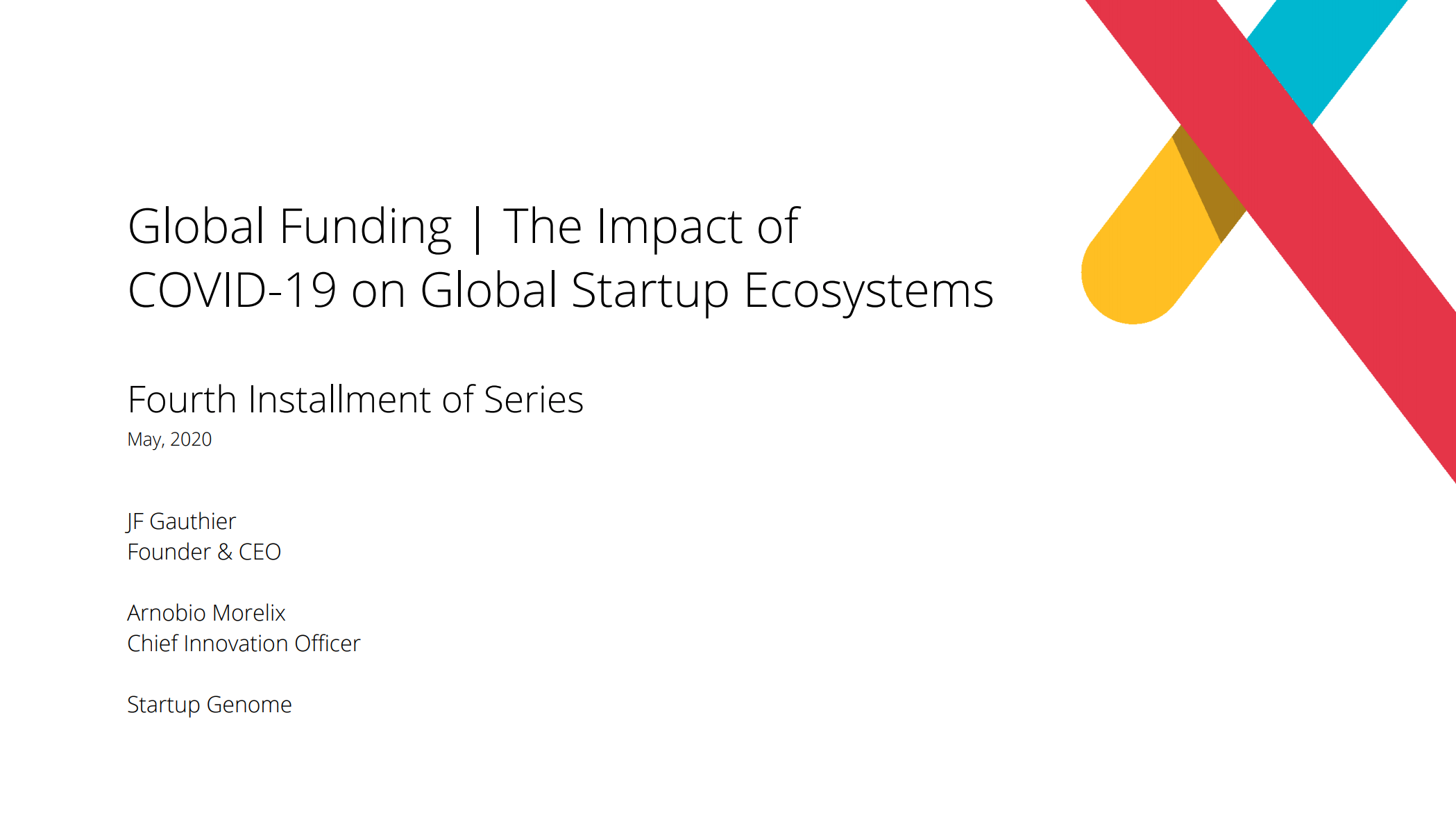 Global Funding   The Impact of COVID-19 on Global Startup Ecosystems